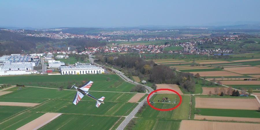 Lage Flugplatz